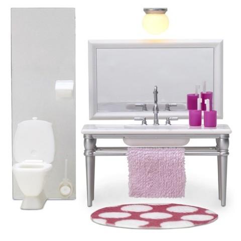 Кукольная мебель Смоланд Ванная с 1 раковиной