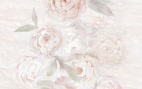 Плитка настенная PEONIA  126873 цветы  250х400
