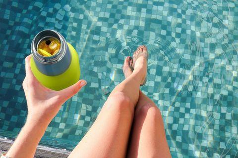 Термос-бутылка Asobu Oasis (0,59 литра), зеленая