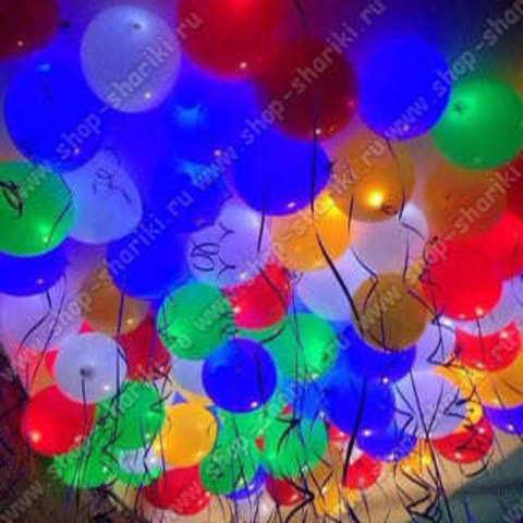 Светящиеся шарики с гелием