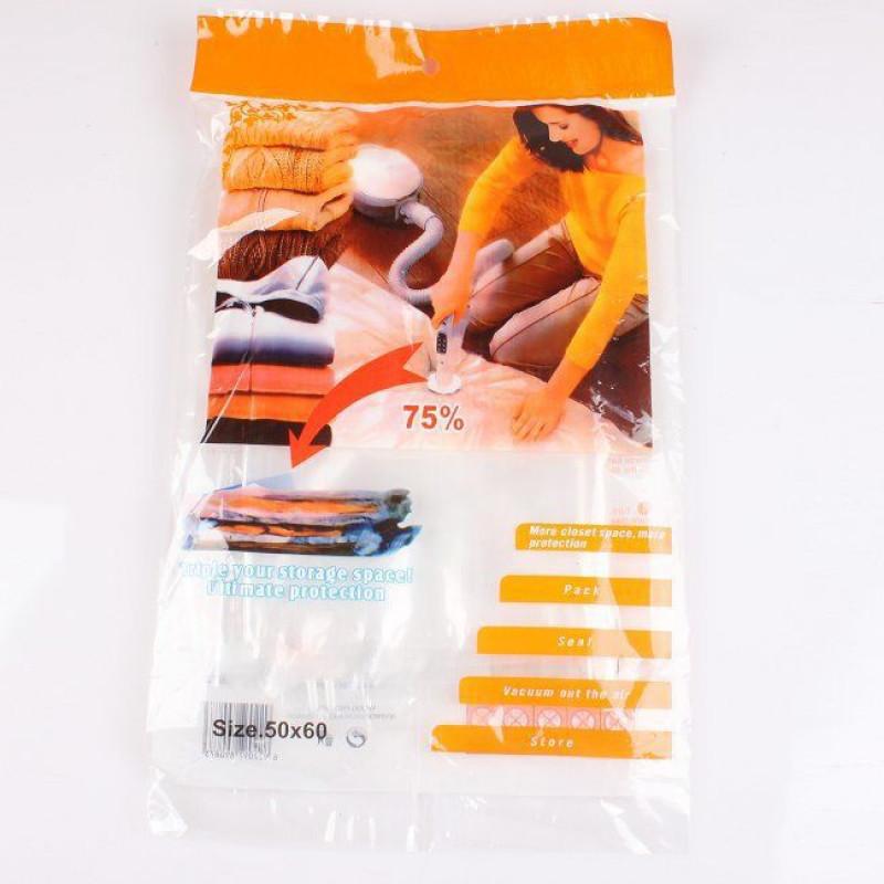Вакуумный мешок для хранения вещей 60*80 фото