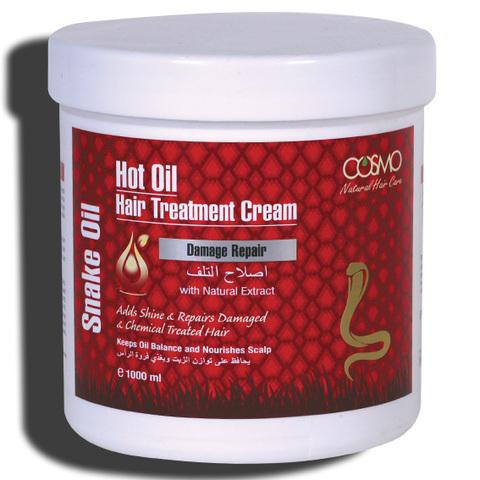 Крем для горячей обработки волос Змеиное масло