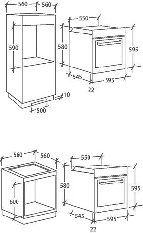 Духовой шкаф Candy FCE615X/E