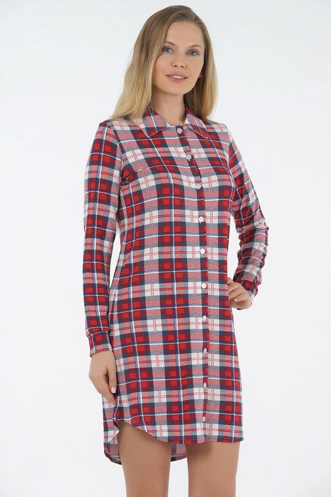 Домашняя рубашка из вискозы Rosapois