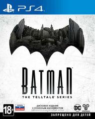 PS4 Batman: The Telltale Series (русские  субтитры)