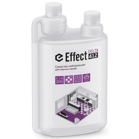 Средство для мытья полов Effect Delta 412 1 л (концентрат)