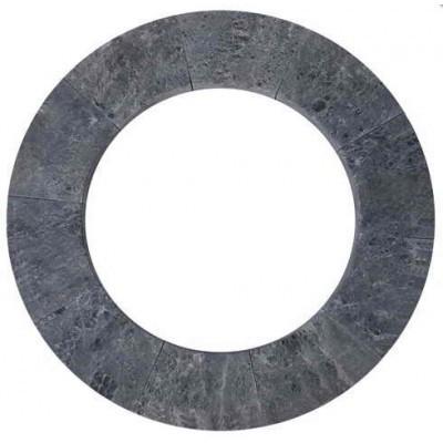 Фото - Ограждения и коврики: Талькохлоритное ограждение SAWO TH-GUARD-S2-CNR для угловой печи TOWER TH2 / TH3 ограждения и коврики коврик деревянный на пол sawo 595 d cnr угловой