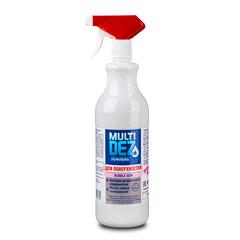 Тефлекс, Мультидез средство для мытья и дезинфекции поверхностей с триггером, bubble gum, 500 мл