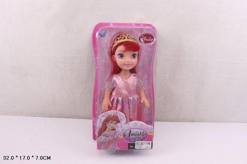 СПЕЦЦЕНА Кукла 010 на картоне п/пл.сказочная принцесса/СЛ010-В5
