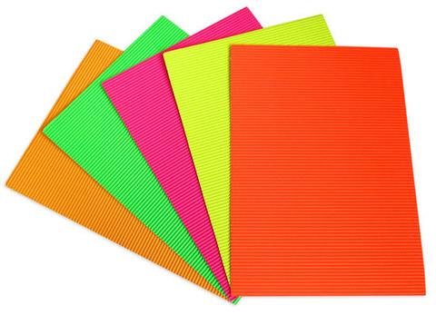 065-3136 Бумага картон гофра А4 флоуресцентная (10 листов)