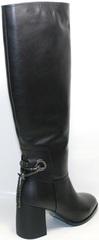 Сапоги женские зимние кожаные европейки Richesse-R 428