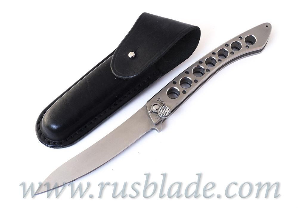 Custom Urakov Al Capone Steel Folding knife