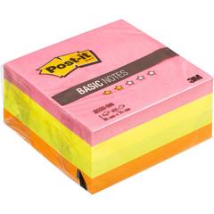 Стикеры Post-it Basic куб 2028-BN 76х76 неон радуга 400 л.