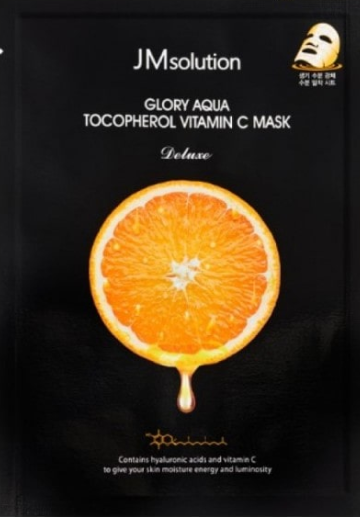 JMsolution Glory Aqua Tocopherol Vitamin C Mask маска для лица