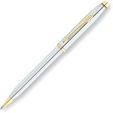Ручка шариковая Cross Century II Medalist Chrome/23Ct Gold Plated (3302WG)