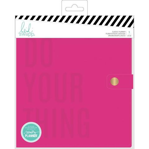 Ежедневник с наполнением  Heidi Swapp Large Memory Planner А5- Color Fresh, Do Your Thing