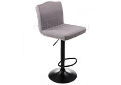 Барный стул Кровн (Crown) grey fabric