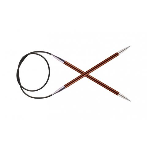 Спицы KnitPro Zing круговые 5,5 мм/40 см 47072