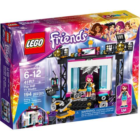 LEGO Friends: Поп-звезда: Телестудия 41117 — Pop Star TV Studio — Лего Френдз Друзья Подружки