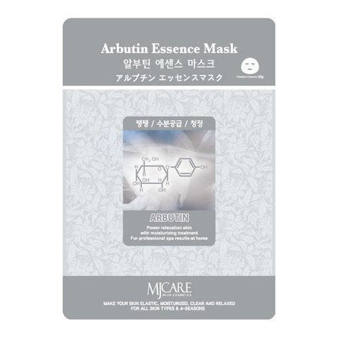 MIJIN Маска тканевая арбутин Arbutin Essence Mask 23 гр