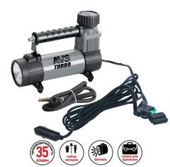 Компрессор автомобильный AVS KS350L (с фонарем)