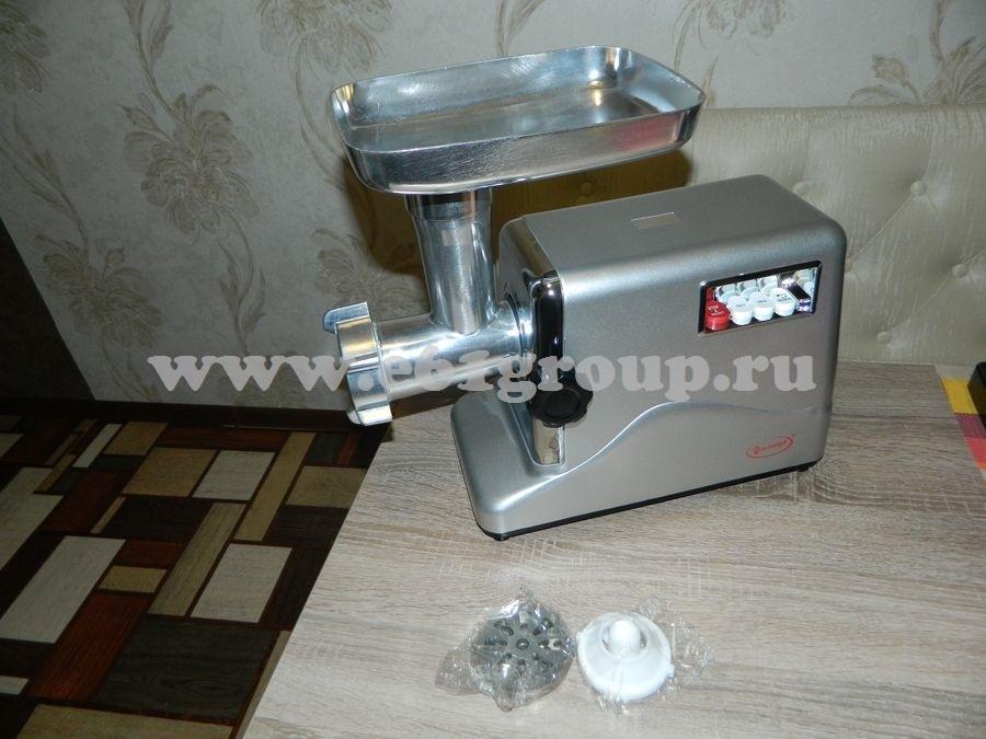 3 Мясорубка электрическая Комфорт Умница МЭ-3000Вт серебристая цена