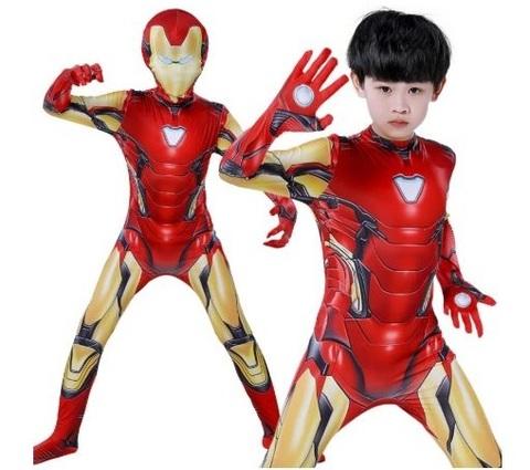 Железный человек костюм детский