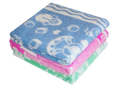 Одеяло байковое жаккард (118х100) ZP-DKOF-4ЕТОЖ