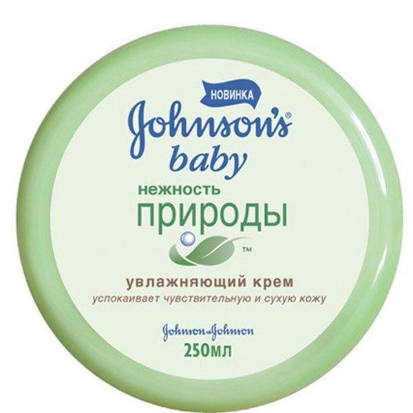 Johnson's Baby Нежность природы увлажняющий крем 250 мл.