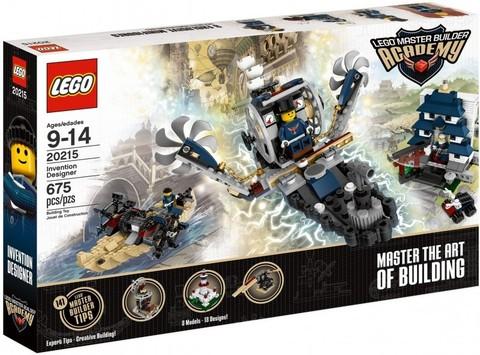 LEGO Master Builder Academy: Дизайнер изобретения 20215 — Invention Designer — Лего Академия строительства