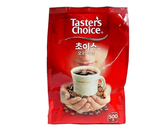 Кофе растворимый Taster's Choice Original, 500 г пакет (Тестер Чойс)