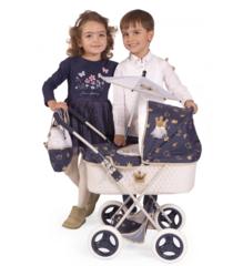 DeCuevas Коляска с сумкой и зонтиком серии Классик Голд, 60 см (складная) (85032)