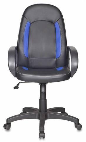 вставки син сиденье черн иск кожа