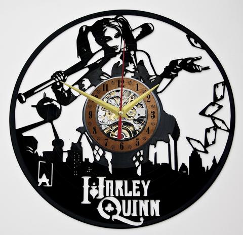 Харли Квинн Часы из Пластинки