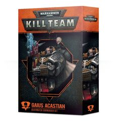 Kill Team: Gaius Acastian Commander set