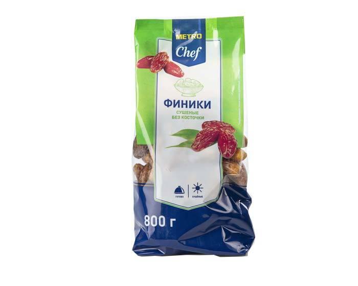 Финик сушеный без косточки Metro Chef, 800 г