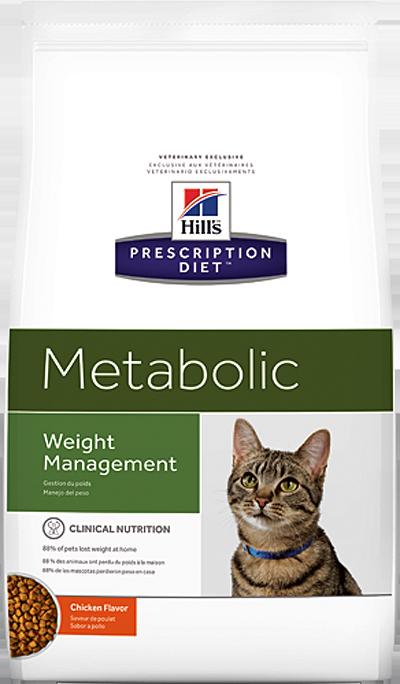 Сухой корм Ветеринарный корм для кошек Hill`s Prescription Diet Metabolic, для коррекции веса, с курицей мета.png