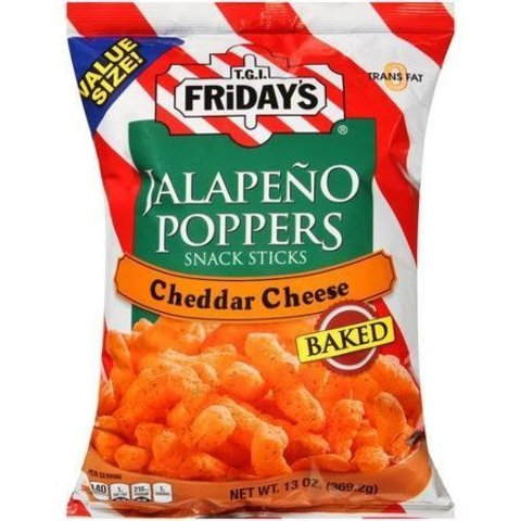 Чипсы Fridays Jalapeno Poppers Cheddar Cheese
