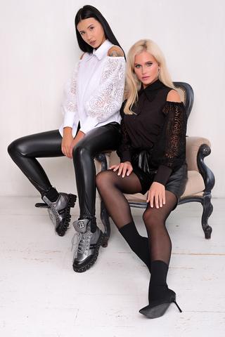 <p>Хит! Хит! Хит!&nbsp;</p> <p>Супер модно! Супер современно! Идеальная блузка для любого эффектного выхода в свет.</p>