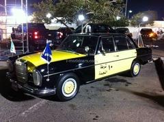 Mercedes-Benz 300SEL W108 Kuwait Police 1:43 DeAgostini World's Police Car #79