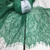 Кружево Тонкое шантильи Emerald