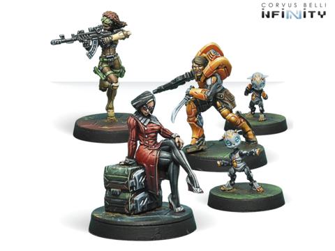 Dire Foes Mission Pack 6. Defiant Truth (Yu Jing vs Haqqislam)