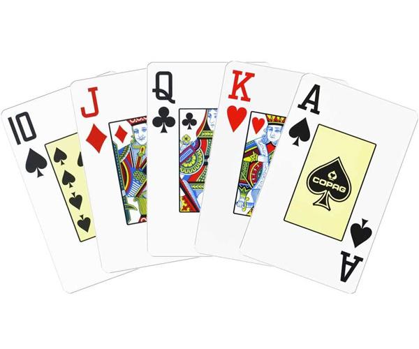 Copag Texas Holdem red