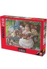 Puzzle Hollynin Ayıcıkları.  Hollys Bears 260 pcs