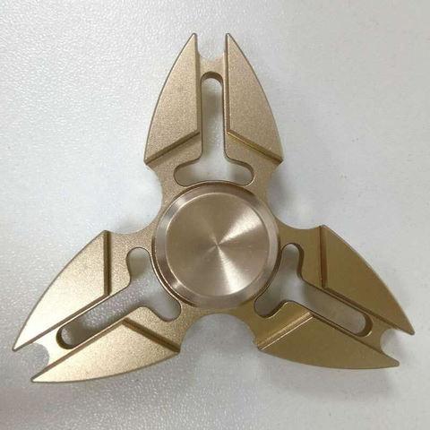 Спиннер металлический сюррикен золотого цвета srckn_001_gold