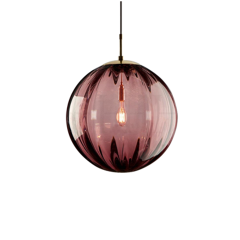 Подвесной светильник Melon by Light Room ( бордовый )