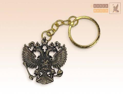 брелок Герб России 3,5 см (односторонний)