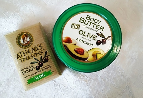 Подарочный набор греческой оливковой косметики Авокадо 1