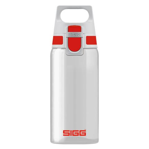 Бутылка Sigg Total Clear One (0,5 литра), бело-красная