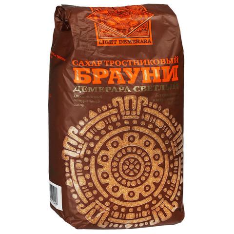 Сахарный песок Брауни Light Demerara тростниковый 900 г